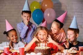Come on, we're having a birthday party