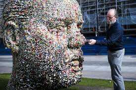 Douglas Coupland's Gumhead encourages viewer to interact – and chew - The  Globe and Mail