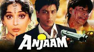 Anjaam (a) is one more film in which current heartthrob Shah Rukh Khan  plays a negative hero – Film Information