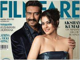Lo and Behold! Ajay Devgn and Kajol revisit romance on the cover of  Filmfare's couple special December issue
