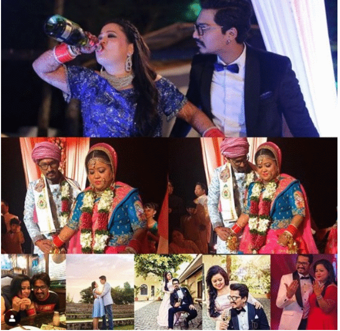 Does Bharti drink alcohol?: Yes